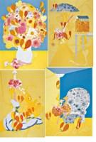 黄金时代 布面 丙烯 - 张弓 - 中国油画雕塑 - 2007秋季艺术品拍卖会 -收藏网