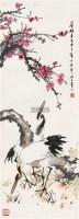 花鸟 立轴 设色纸本 - 张聿光 - 中国书画 - 第117期月末拍卖会 -收藏网