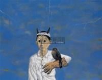 驯鹰 布面丙稀 - 139804 - 中国油画 - 2005秋季大型艺术品拍卖会 -收藏网