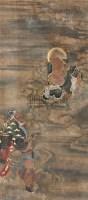佚名 拜仙图 -  - 中国书画专场 - 2009春季拍卖会 -中国收藏网