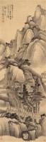 乙卯(1675年)作 上方仙客楼 立轴 水墨纸本 - 2322 - 中国古代书画 - 2006秋季拍卖会 -收藏网