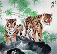 方楚雄 兄弟 立轴 - 117202 - 中国书画 - 第二届中国书画拍卖会 -中国收藏网