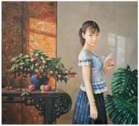 心愿 布面 油画 - 高虹 - 中国油画 - 2007春季艺术品拍卖会 -收藏网