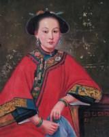 妇人肖像 布上油画 -  - 中国西画 - 2006秋季拍卖会 -收藏网