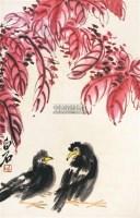花鸟 立轴 - 齐白石 - 中国书画 - 2011年春季艺术品拍卖会 -中国收藏网
