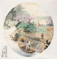 魏紫熙(1915-2002) 江南三月 - 魏紫熙 - 中国书画 - 2006年秋季艺术品大型拍卖会 -收藏网