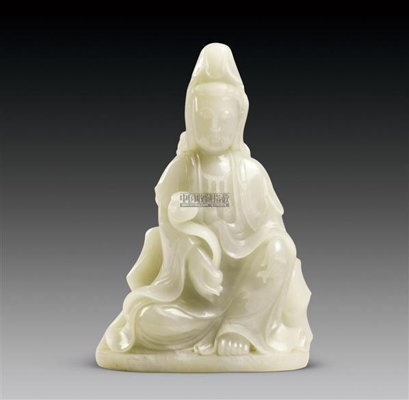 玉观音 -  - 中国玉器杂项专场 - 2011首届秋季拍卖会 -收藏网