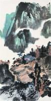 青山红叶书屋 立轴 设色纸本 - 4357 - 中国书画专场 - 2008年迎春艺术品拍卖会 -收藏网