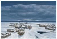 冬日 油彩 布面 - 胡建成 - 中国油画(一)-亚洲当代 - 2007春季拍卖会 -收藏网