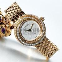 CARTIER, A LADY'S THREE COLOUR GOLD AND DIAMOND SET WRISTWATCH WITH BRACELET CIRCA 2001 -  - 钟表 - 2007年秋季拍卖会 -收藏网