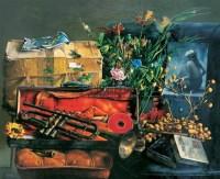 秩序 布面 油画 -  - 油画、雕塑、版画暨广东油画、水彩 - 2006冬季拍卖会 -收藏网
