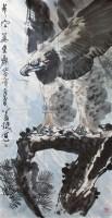 长空万里图 镜心 - 萧 焕 - 中国书画 - 2011年首屇艺术品拍卖会 -收藏网