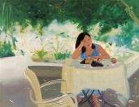 章剑 2000年作 闲暇时光 布面油画 - 章剑 - 中国当代艺术二十年 - 2006秋季拍卖会 -收藏网
