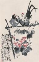 """荷花 立轴 设色纸本 - 119140 - 中国书画 - 2010""""庆世博""""文物艺术品上海专场拍卖会 -中国收藏网"""