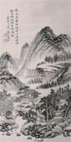 山水 立轴 设色纸本 - 吴桐 - 中国书画 - 2005迎春艺术品拍卖会 -收藏网