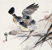 水禽幽戏 镜心 设色纸本 - 116765 - 中国书画专场 - 2008年迎春艺术品拍卖会 -收藏网