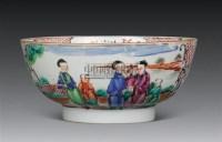 广彩人物碗 -  - 瓷器 杂项 - 2011春季拍卖会 -收藏网