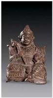 红铜财宝天王像 -  - 佛像唐卡 - 2007春季艺术品拍卖会 -中国收藏网