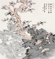 梅开天下春 立轴 设色纸本 - 116006 - 书画 - 2011年拍卖会 -收藏网