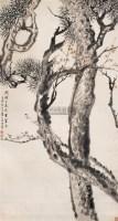 松梅 中堂 设色纸本 - 张赐宁 - 中国古代书画 - 2007春季大型艺术品拍卖会 -收藏网