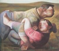 喜悦 布面 油画 - 宫立龙 - 中国油画雕塑 - 2007秋季艺术品拍卖会 -收藏网