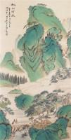 山水人物 立轴 设色纸本 - 黄山寿 - 书画杂件 - 2007迎春文物艺术品拍卖会 -中国收藏网