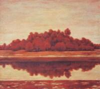 吴明 秋之一 布面 油画 - 29526 - 油画 - 2006年金秋珍品拍卖会 -收藏网