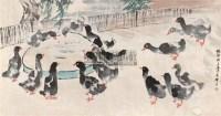 娄师白 鸭场归来 - 娄师白 - 中国书画专场 - 2007迎春拍卖会 -收藏网