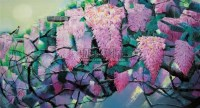 鸣春 油画 框 - 153359 - 油画 中国书画 杂项 - 2008欢乐节艺术品拍卖会 -中国收藏网