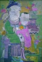 富贵吉祥 布面 油画 - 19792 - 名家西画 当代艺术专场 - 2008年春季拍卖会 -中国收藏网