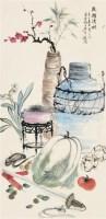 花卉 立轴 纸本 - 4433 - 中国书画 - 2011年秋季大型艺术品拍卖会 -收藏网