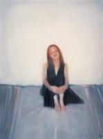 尹朝阳 2003年作 女孩 布面油画 - 尹朝阳 - 中国当代艺术二十年 - 2006秋季拍卖会 -收藏网