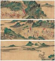 文姬归汉图 手卷 设色绢本 - 尤求 - 中国书画 - 2007春季大型拍卖会 -中国收藏网
