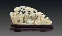 玉八仙人物摆件 -  - 古董珍玩 - 2011春季艺术品拍卖会 -收藏网