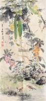 秋色 镜框 纸本 - 116837 - 中国书画专场 - 2012年迎春中国书画精品拍卖会 -收藏网