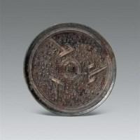 三山纹铜镜 -  - 中国瓷器 杂项 玉器 - 2008秋季拍卖会 -收藏网