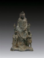 观音菩萨像 -  - 妙法修心(一)——佛像专场 - 2011年秋季艺术品拍卖会 -收藏网