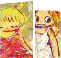 无题 (2件) 压克力 瓦楞纸 装框(各) -  - 当代美术 西洋美术 - 2011秋季伊斯特香港拍卖会 -收藏网