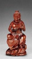 木雕金刚摆件 -  - 瓷玉工艺品专场 - 2011夏季艺术品拍卖会 -收藏网