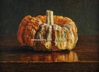 去年的万圣节 卵彩、油彩、画布 - 叶子奇 - 二十世纪中国艺术 - 2011年春季拍卖会 -收藏网