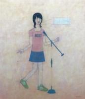 王亚强 2005年作 你的感觉是错误的 - 王亚强 - 油画 - 70后中国新艺术专场拍卖会 -收藏网