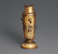铜鎏金雕花鸟小瓶 -  - 瓷器 玉器 工艺品 - 2008春季拍卖会 -收藏网