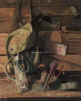 老伙计 布面油画 -  - 油画之光—油画专场 - 北京康泰首届艺术品拍卖会 -收藏网