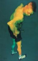 身体的图像2007.NO.2 布面  油画 - 吴建军 - 中国油画雕塑 - 2007春季艺术品拍卖会 -收藏网
