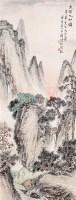 天保九如图 立轴 设色纸本 -  - 中国书画(二) - 2006年秋季艺术品拍卖会 -收藏网