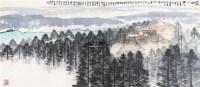 灵山又一天 镜心 设色纸本 - 4551 - 精品书画专场 - 2011秋季艺术品拍卖会 -中国收藏网