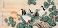 松鹤长春 镜心 - 118007 - 中国书画 - 2008春季拍卖会 -收藏网