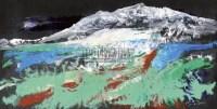 神秘慧灵 镜心 设色纸本 - 刘戈 - 中国当代水墨 - 2011年春季拍卖会 -收藏网