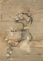 仕女图 - 116944 - 中国书画 - 2011年江苏景宏国际春季书画拍卖会 -收藏网