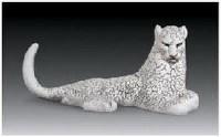 """""""雪豹""""雕塑 - 158246 - 中国当代名家陶瓷 - 2007秋季拍卖会 -收藏网"""